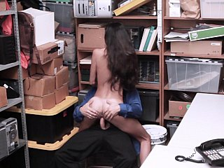 Latina thief fuck-punished