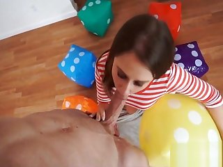Super Spinner Takes Unthinking Cock Brooke Gaiety