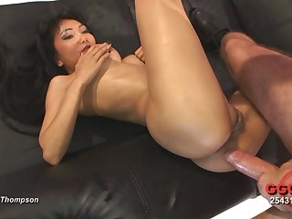 Anal Asian takes on every guy and gets lots of loads
